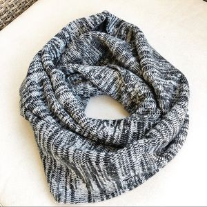 Victoria's Secret Pink Marbled Gray Infinity Scarf